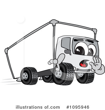 Big Rig Clipart #1095946 by Toons4Biz