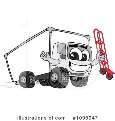 Big Rig Clipart #1095947 by Toons4Biz