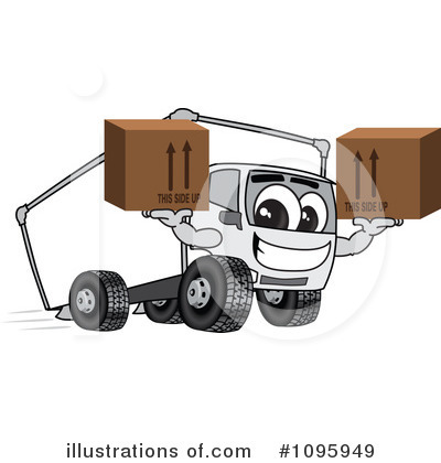 Big Rig Clipart #1095949 by Toons4Biz