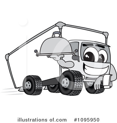 Big Rig Clipart #1095950 by Toons4Biz