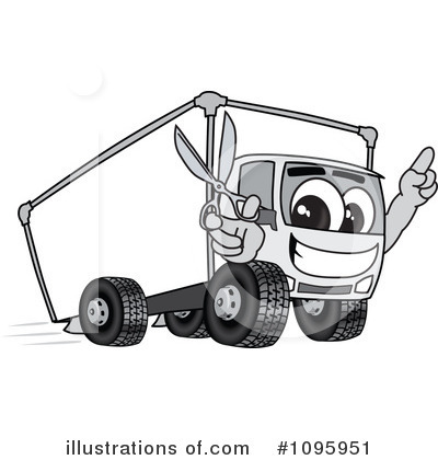 Big Rig Clipart #1095951 by Toons4Biz