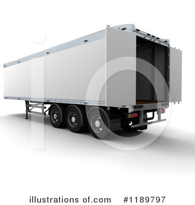 Trucking Clipart #1189797 by KJ Pargeter