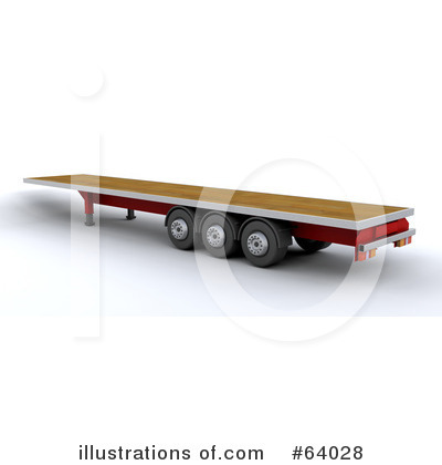 Trucking Clipart #64028 by KJ Pargeter