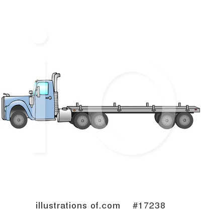 Big Rig Clipart #17238 by djart