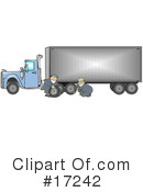 Royalty-Free (RF) trucking industry Clipart Illustration #17242