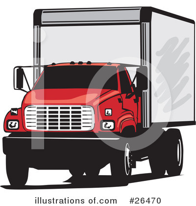 Royalty-Free (RF) Trucking Industry Clipart Illustration by David Rey - Stock Sample #26470