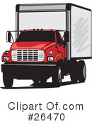 Trucking Industry Clipart #26470 by David Rey