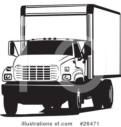 Trucking Industry Clipart #26471 by David Rey