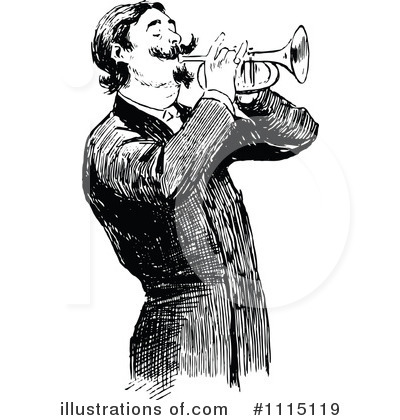 Music Clipart #1115119 by Prawny Vintage