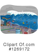 Tsunami Clipart #1269172 by BNP Design Studio