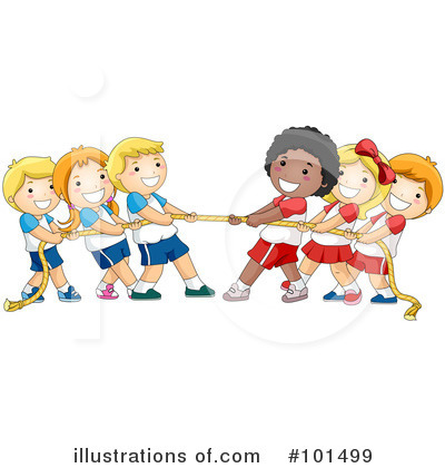 Tug Of War Clipart #101499 by BNP Design Studio