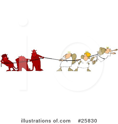 Tug Of War Clipart #25830 by djart