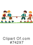 Tug Of War Clipart #74297