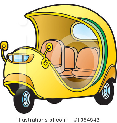 Taxi Clipart #1054543 by Lal Perera