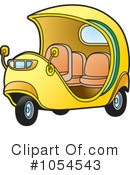 Royalty-Free (RF) Tuk Tuk Clipart Illustration #1054543