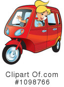 Royalty-Free (RF) Tuk Tuk Clipart Illustration #1098766