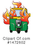 Royalty-Free (RF) Tuk Tuk Clipart Illustration #1472602