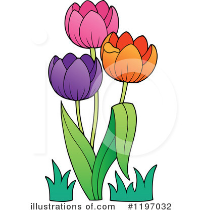 Tulips Clipart #1197032 by visekart