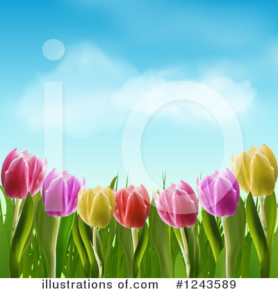 Spring Time Clipart #1243589 by elaineitalia