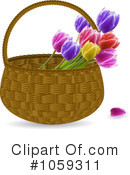 Royalty-Free (RF) Tulips Clipart Illustration #1059311