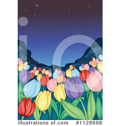 Flower Clipart #1128698 by Graphics RF