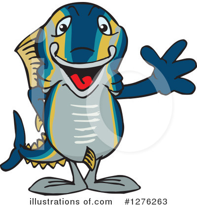 Fish Clipart #1276263 by Dennis Holmes Designs