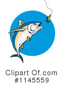 Tuna Fish Clipart #1145559