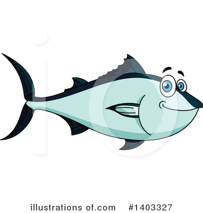Fish Clipart #1403327 by Vector Tradition SM