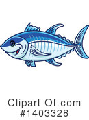 Tuna Fish Clipart #1403328