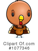 Turkey Bird Clipart #1077346 by Cory Thoman