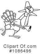 Turkey Bird Clipart #1086496