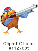 Royalty-Free (RF) Turkey Bird Clipart Illustration #1127085
