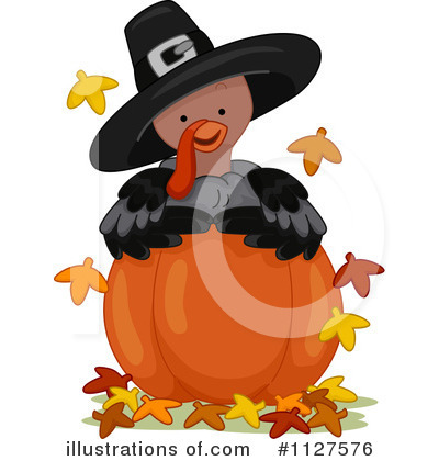 Thanksgiving Clipart #1127576 by BNP Design Studio