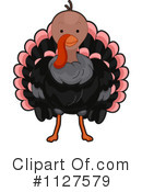 Royalty-Free (RF) Turkey Bird Clipart Illustration #1127579