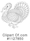 Royalty-Free (RF) Turkey Bird Clipart Illustration #1127850