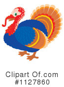 Royalty-Free (RF) Turkey Bird Clipart Illustration #1127860