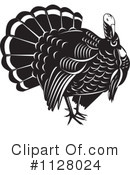 Royalty-Free (RF) Turkey Bird Clipart Illustration #1128024