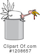 Turkey Bird Clipart #1208657