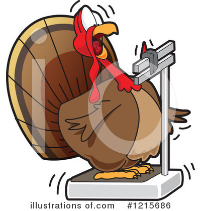 Thanksgiving Turkey Clipart #1215686 by Toons4Biz
