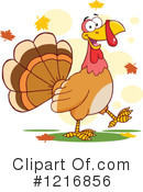 Turkey Bird Clipart #1216856 by Hit Toon