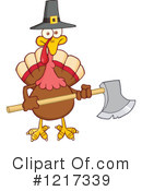 Turkey Bird Clipart #1217339 by Hit Toon