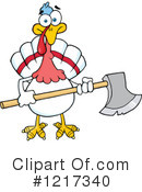 Turkey Bird Clipart #1217340