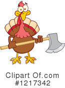 Turkey Bird Clipart #1217342 by Hit Toon