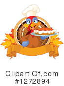 Turkey Bird Clipart #1272894 by Pushkin