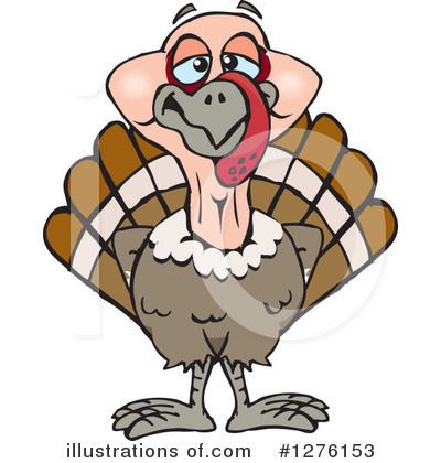 Thanksgiving Clipart #1276153 by Dennis Holmes Designs