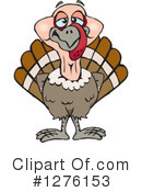 Royalty-Free (RF) Turkey Bird Clipart Illustration #1276153