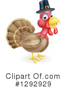 Turkey Bird Clipart #1292929 by AtStockIllustration