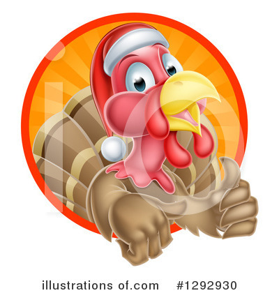 Turkey Bird Clipart #1292930 by AtStockIllustration
