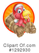 Royalty-Free (RF) Turkey Bird Clipart Illustration #1292930