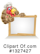 Royalty-Free (RF) Turkey Bird Clipart Illustration #1327427